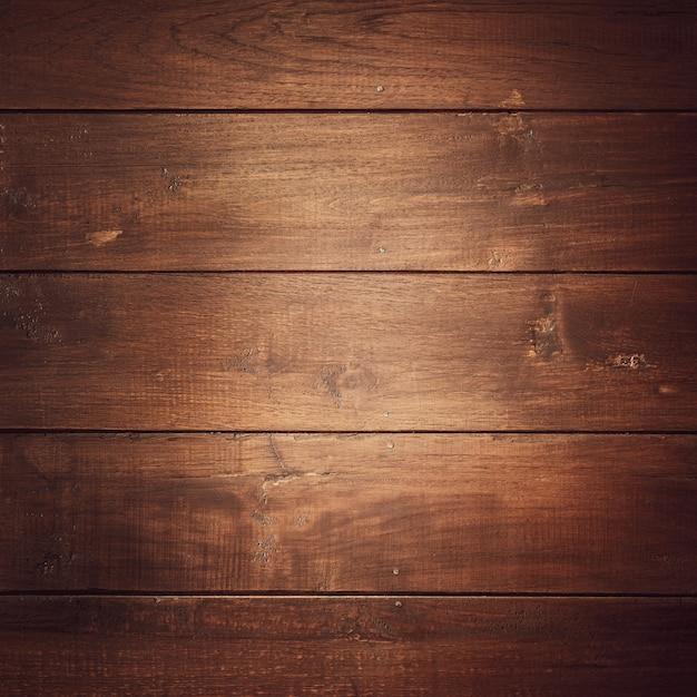 Bruin hard hout genageld. Premium Foto