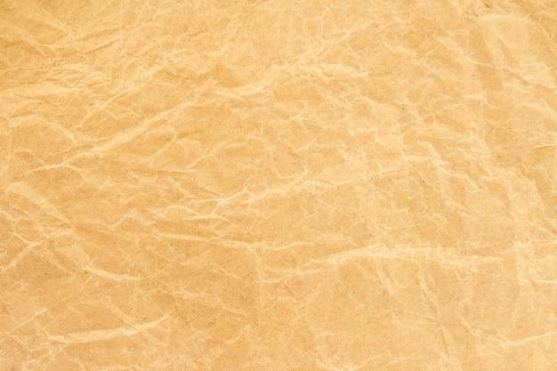 Bruine rimpel kringlooppapier achtergrond Premium Foto