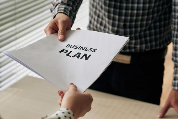 Businessplan geven Gratis Foto