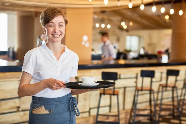 Cafe personeel Gratis Foto