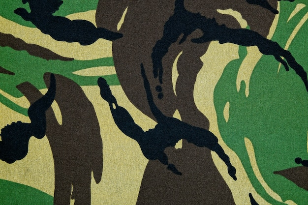 Camouflage patroon achtergrond of textuur Premium Foto