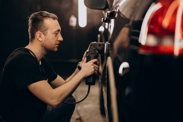Carwash-detailstation Gratis Foto