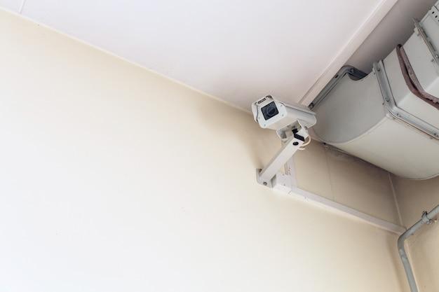 Cctv bewakingscamera Premium Foto