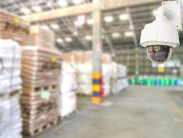 Cctv camerasysteem. Premium Foto