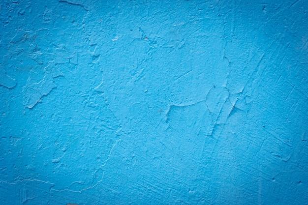 Cement geschilderde muurachtergrond, baby-blauwe pastelkleurtextuur Premium Foto