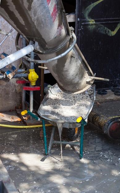 Cement truck Premium Foto