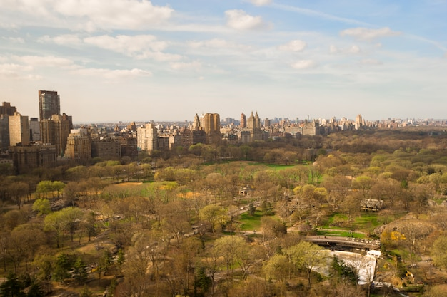 Central park, manhattan, new york, amerika Premium Foto