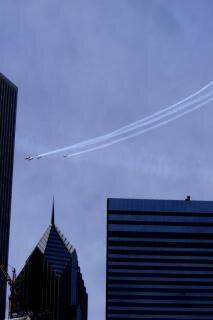 Chicago, vliegtuigen Gratis Foto