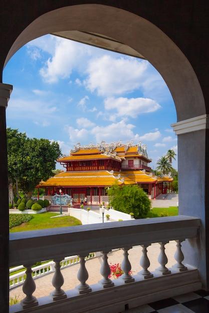Chinese stijl tempel Premium Foto
