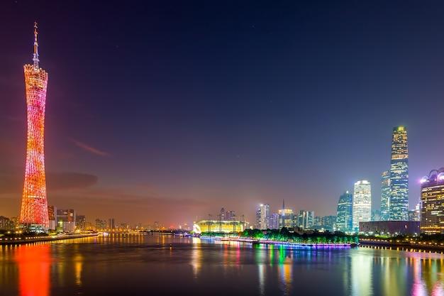 Chinese toeristische toren modern landschap Gratis Foto