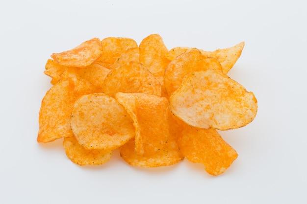Chips met paprica. Premium Foto