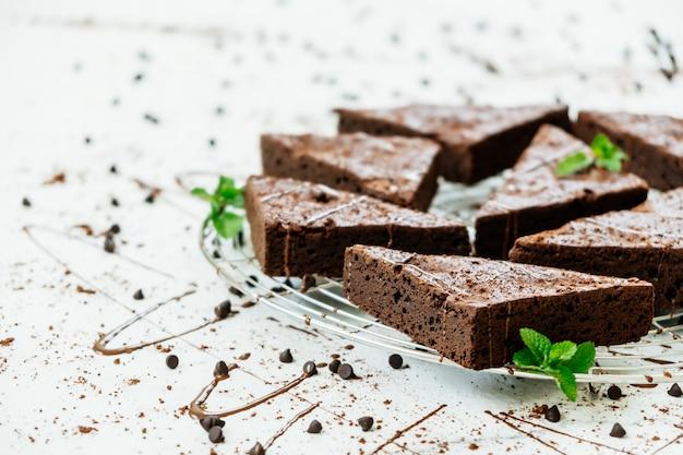 Chocolade brownies Gratis Foto