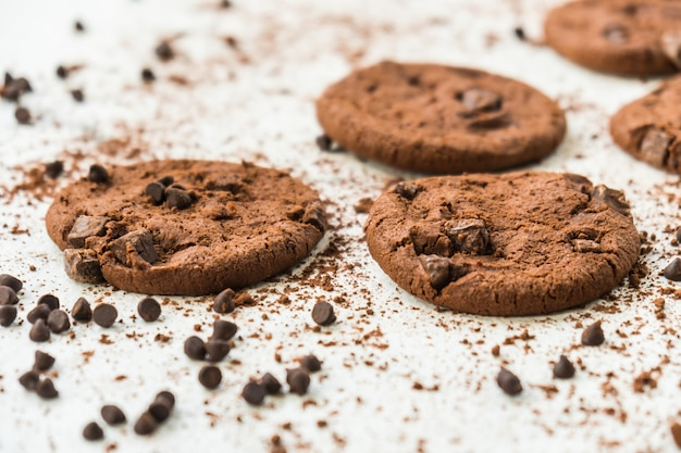 Chocolade koekjes Gratis Foto
