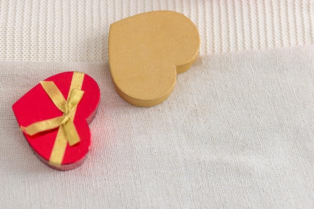 Chocolade snoepjes hartvormige dozen Gratis Foto