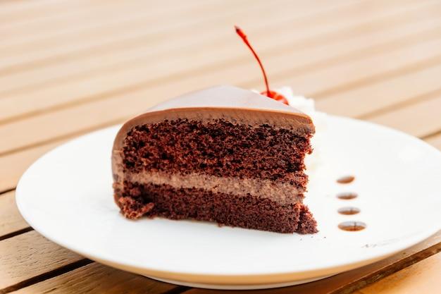 Chocoladetaart Gratis Foto