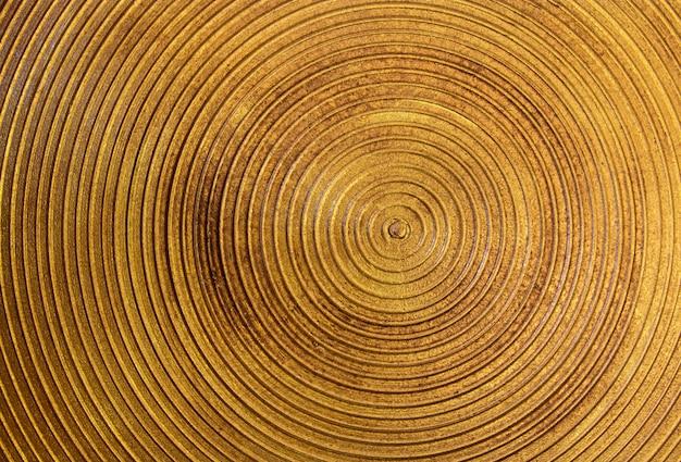 Cirkel gouden stalen textuur voor achtergrond Gratis Foto