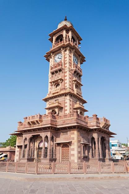Clock tower, jodhpur Premium Foto