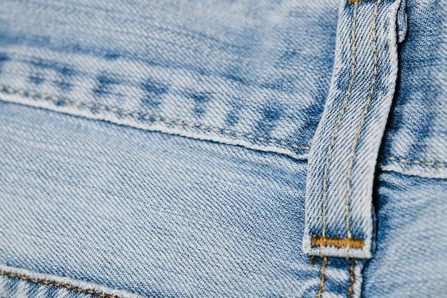 Close-up blue jeans riem loop Gratis Foto