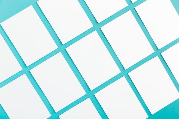 Close-up briefpapier zakelijke visitekaartjes Gratis Foto