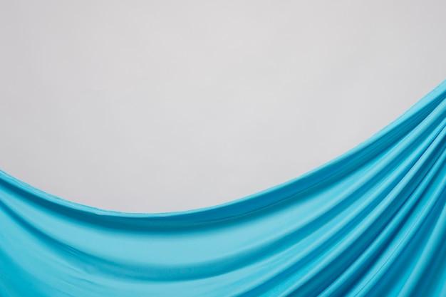 Close-up gerimpeld blauw materiaal Gratis Foto