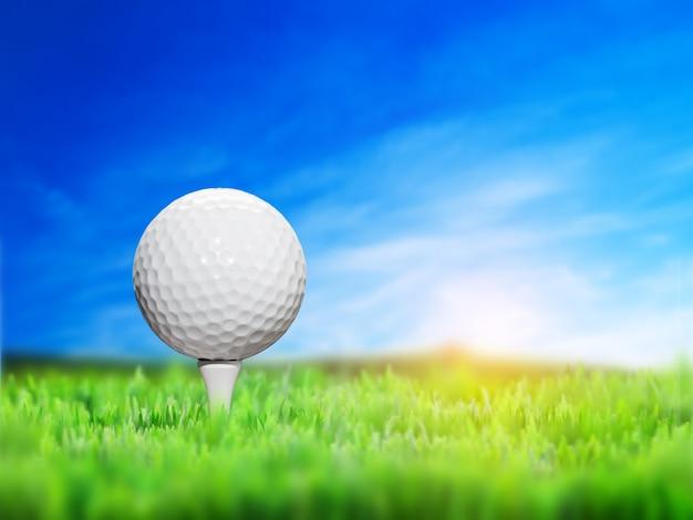 Close-up golfbal Gratis Foto
