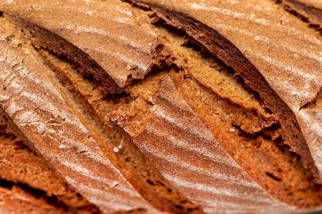 Close-up heerlijk zelfgebakken brood Gratis Foto