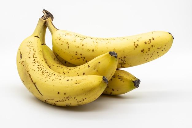 Close-up shot van een bos van banaan Gratis Foto