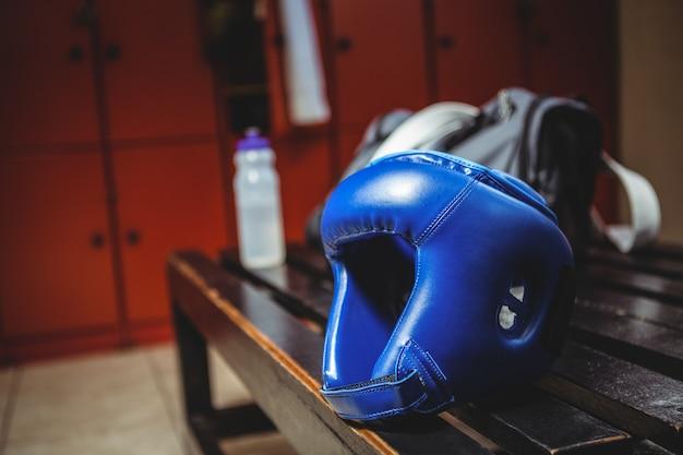 Close-up van boksen hoofddeksel Gratis Foto