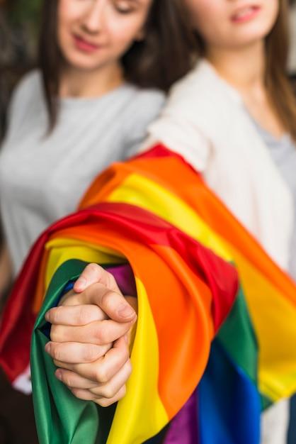 Jonge lesbische Fotos