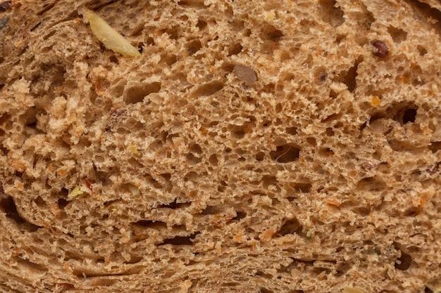 Close-up van gebakken brooddeeg Gratis Foto