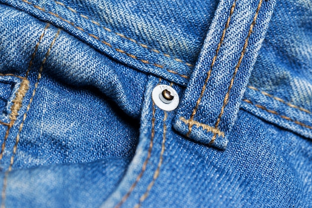 Close-up van jeans Gratis Foto