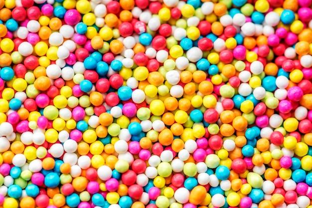 Close-up van kleurrijke ronde gestructureerde achtergrond Gratis Foto
