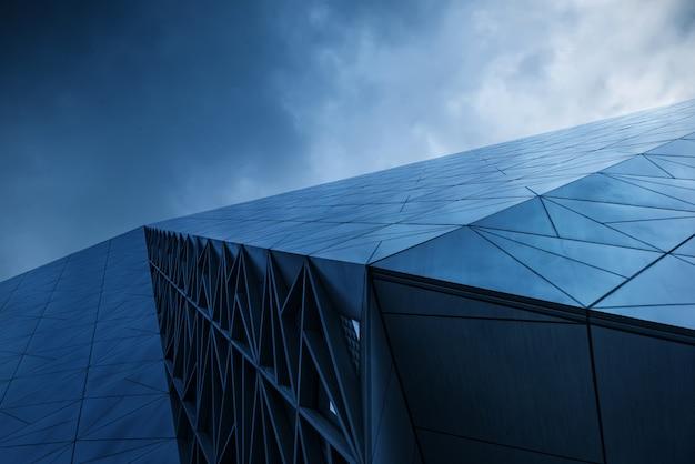 Close-up van moderne architectuur in chongqing, china Premium Foto