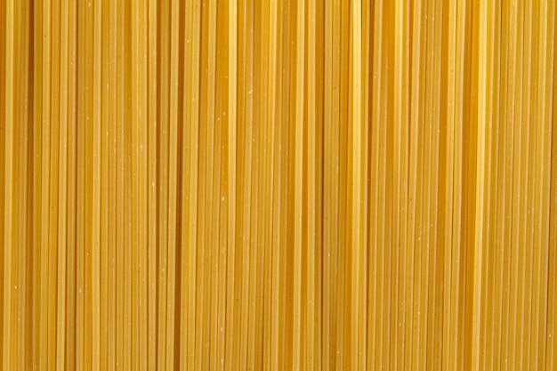 Close-up van ongekookte spaghetti Gratis Foto