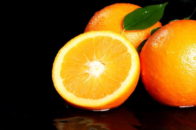 Close up van vers oranje fruit Gratis Foto