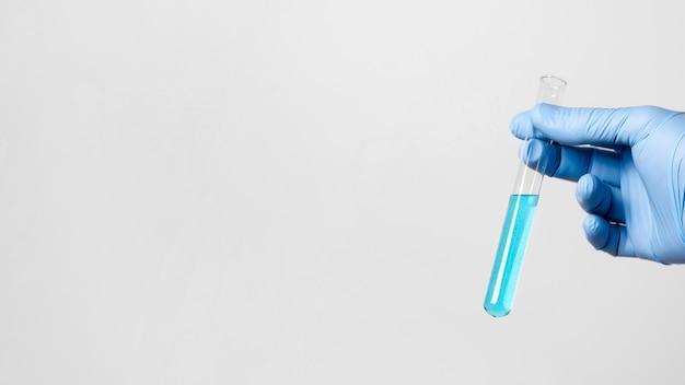 Close-up van wetenschap concept met kopie ruimte Gratis Foto