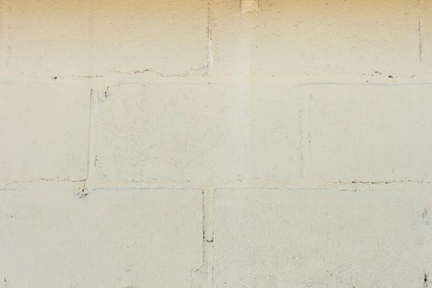 Close-up van witte bakstenen muurachtergrond Gratis Foto