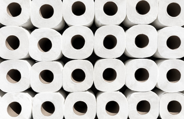 Close-up wc-papier rollen Gratis Foto