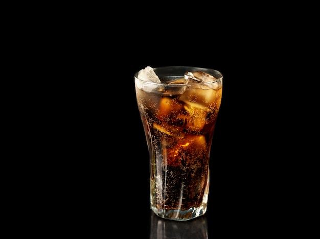 Coca-cola glas Premium Foto