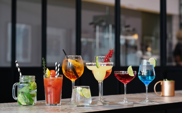 Cocktail glazen Gratis Foto
