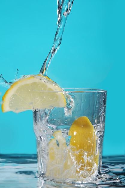 Cocktail met citroen Gratis Foto