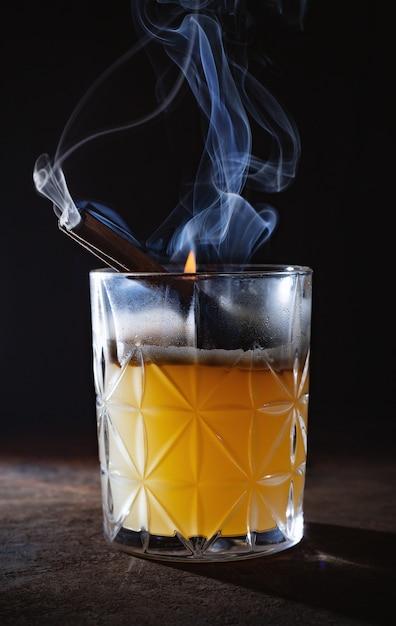 Cocktail roken Premium Foto