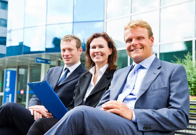 Commercieel team Premium Foto