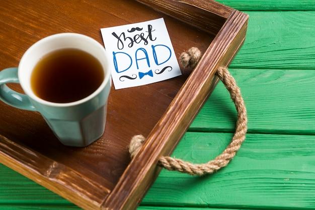 Compositie voor vaders dag Gratis Foto