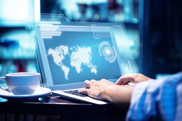 Concept van de algemene verordening gegevensbescherming (avg) Premium Foto
