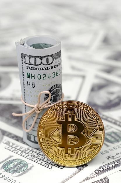 Conceptueel beeld voor wereldwijd cryptocurrency blockchain-betalingssysteem Premium Foto