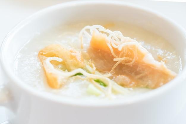 Congee rijstpap Premium Foto