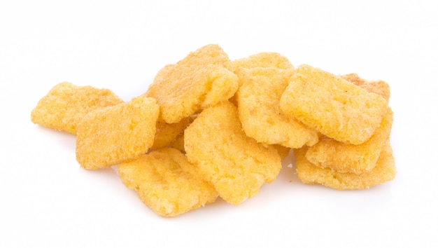 Corn chips geïsoleerd Premium Foto