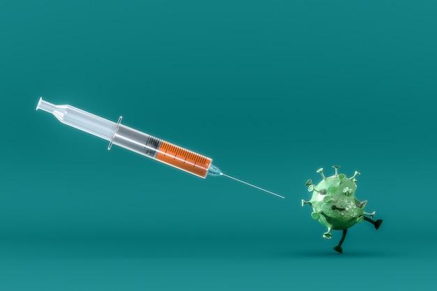 Coronavirus-vaccin Gratis Foto