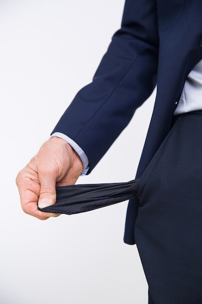 Corporate werknemer werkloos zakenman broek Gratis Foto